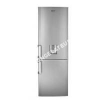nouveautes  CS134021DS - Réfrigérateur congélateur bas - 300L (210+90) - Froid brassé - A+ - L 59,5cm x H 186,4cm - Silver